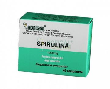 Spirulina 1000mg   40cpr